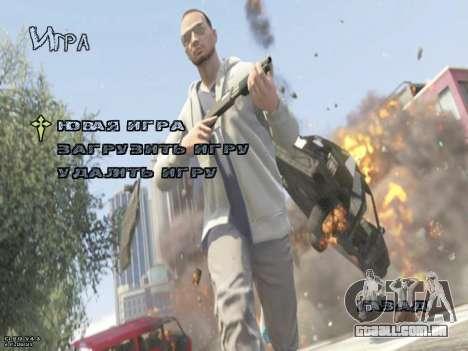 New Menu GTA 5 para GTA San Andreas segunda tela