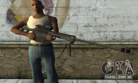 M82A3 para GTA San Andreas terceira tela