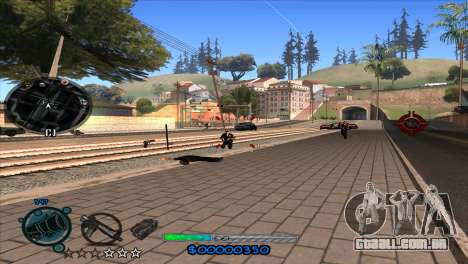 C-HUD Slow para GTA San Andreas quinto tela