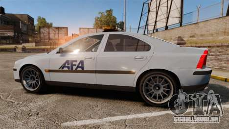 Volvo S60 AFA [ELS] para GTA 4 esquerda vista