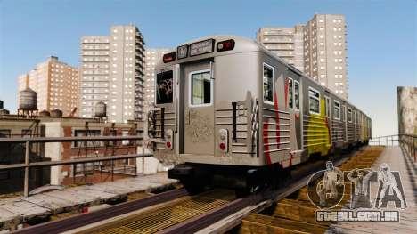 Novo grafite para metrowakonowa para GTA 4 segundo screenshot