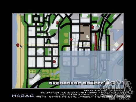 Naufrágio para GTA San Andreas quinto tela