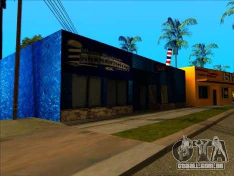 A nova textura loja Binco em LS para GTA San Andreas terceira tela