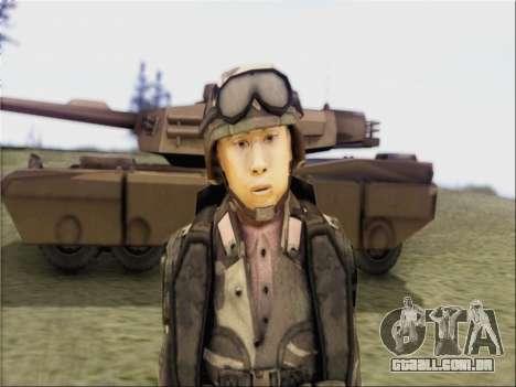 Soldados Da República popular Da China para GTA San Andreas segunda tela