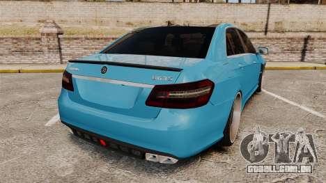 Mercedes-Benz B63 S Brabus para GTA 4 traseira esquerda vista