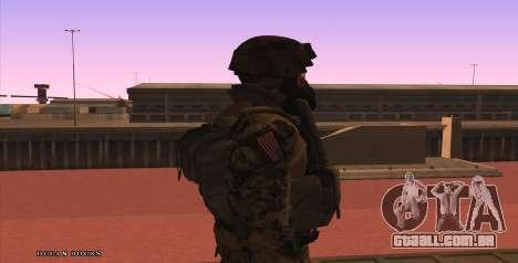Global Defense Initiative Soldier para GTA San Andreas quinto tela