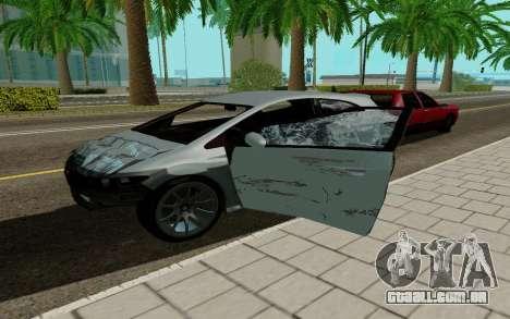 Dinka Blista GTA V para GTA San Andreas vista direita