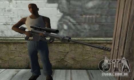 Sniper Rifle para GTA San Andreas terceira tela