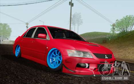 Mitsubishi Lancer MR Edition para GTA San Andreas