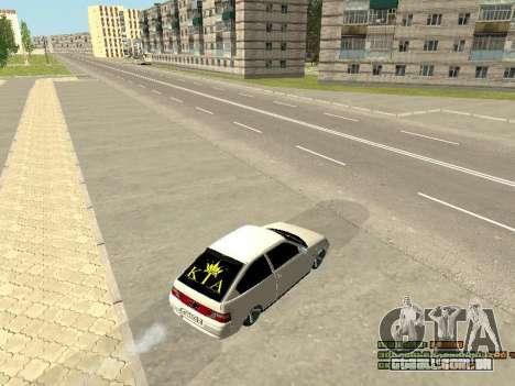 VAZ 21123 para GTA San Andreas vista interior
