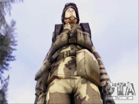 Soldados Da República popular Da China para GTA San Andreas terceira tela