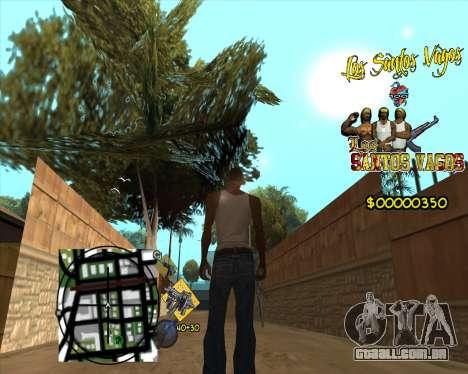 C-HUD LSVG para GTA San Andreas terceira tela