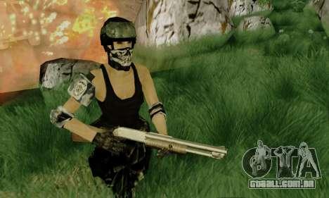 SWAT GIRL para GTA San Andreas