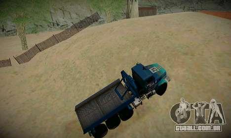 Pista de off-road para GTA San Andreas sexta tela