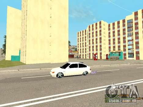 VAZ 21123 para vista lateral GTA San Andreas