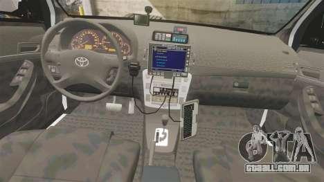 Toyota Hilux Police Western Australia para GTA 4 vista de volta