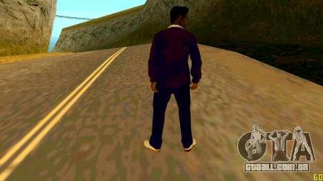 A nova textura Jizzy HQ para GTA San Andreas segunda tela