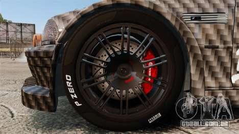 BMW M3 GTR 2012 Drift Edition para GTA 4 vista de volta