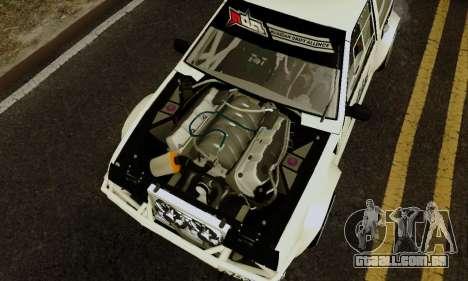 VAZ 2108 RDA para GTA San Andreas vista traseira