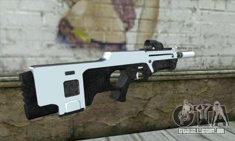 F6 Assault Rifle para GTA San Andreas segunda tela