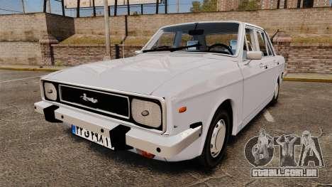 IKCO Paykan 1970 para GTA 4