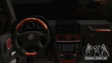 Mercedes-Benz G63 AMG 6X6 para GTA San Andreas vista direita
