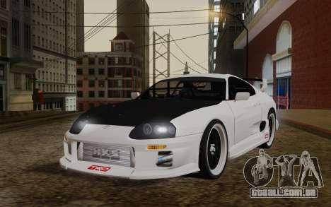 Toyota Supra TRD para GTA San Andreas