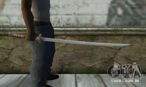 Espada para GTA San Andreas terceira tela