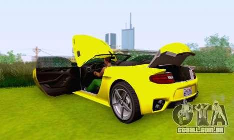 GTA V Rapid GT Cabrio para o motor de GTA San Andreas