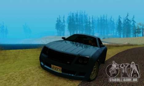 Fusilade GTA V para GTA San Andreas vista traseira