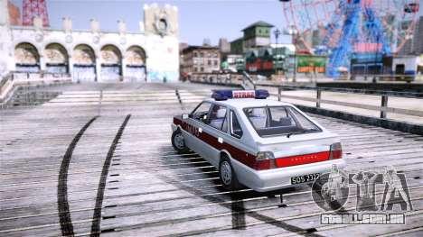 Daewoo FSO Polonez Caro Fire para GTA 4 vista direita