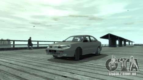 Daewoo Leganza para GTA 4 esquerda vista