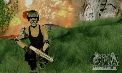 SWAT GIRL para GTA San Andreas segunda tela