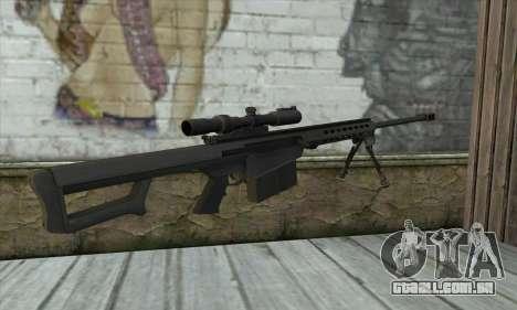 M82A3 para GTA San Andreas segunda tela