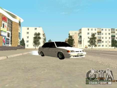 VAZ 2115 para GTA San Andreas esquerda vista