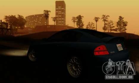 Fusilade GTA V para GTA San Andreas vista superior