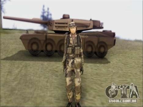 Soldados Da República popular Da China para GTA San Andreas