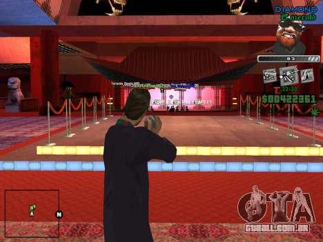 C-HUD by Misterio para GTA San Andreas por diante tela