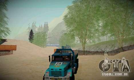 Pista de off-road para GTA San Andreas sétima tela