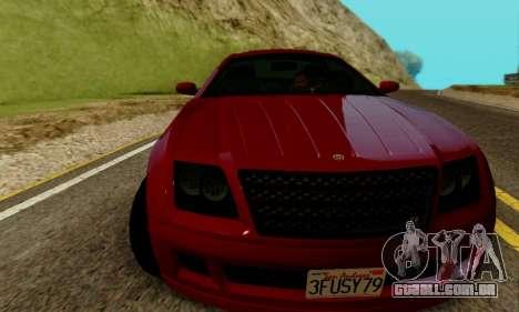 Fusilade GTA V para GTA San Andreas esquerda vista