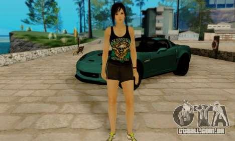 Kokoro A7X para GTA San Andreas por diante tela