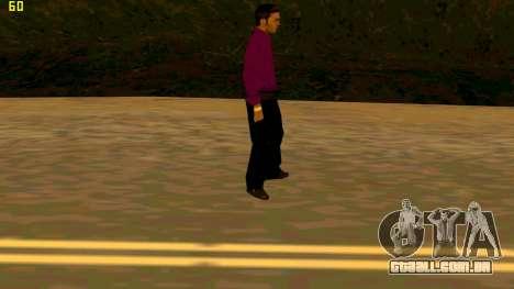 A nova textura shmycr para GTA San Andreas terceira tela