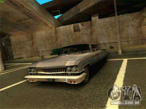Cadillac Stella 1959 para GTA San Andreas vista direita
