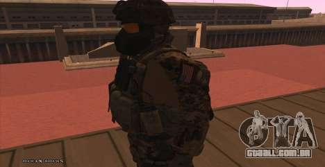 Global Defense Initiative Soldier para GTA San Andreas sexta tela