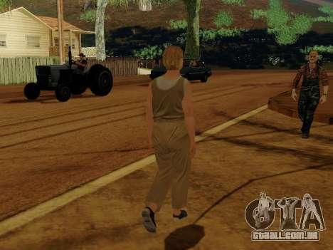 Mulher idosa para GTA San Andreas por diante tela