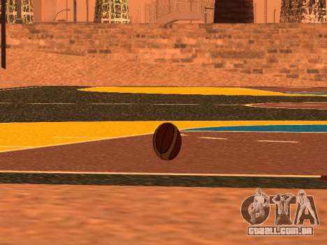 Novo basquete empresa de Fundição para GTA San Andreas por diante tela