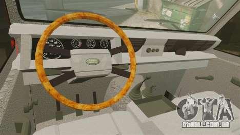 Land Rover Defender VLHR SDIS 42 [ELS] para GTA 4 vista de volta