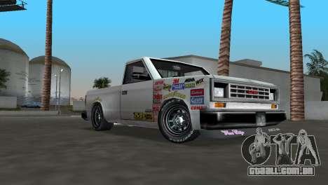 Bobcat Turbo para GTA Vice City deixou vista