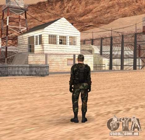 Army HD para GTA San Andreas segunda tela