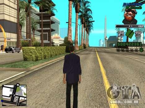 C-HUD by Misterio para GTA San Andreas segunda tela